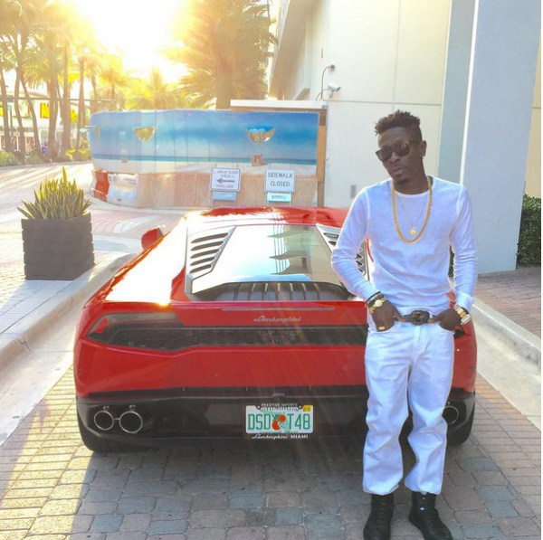 Shatta Wale New Car